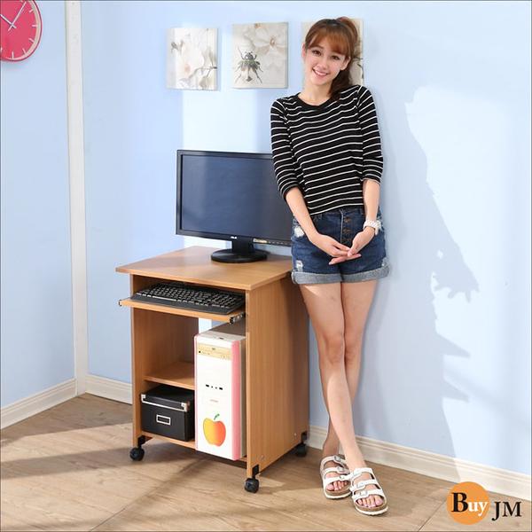 《百嘉美》簡約附輪電腦桌(寬60公分) 斗櫃 衣櫃 鞋櫃 穿衣鏡