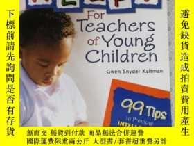 二手書博民逛書店More罕見Help !For Teachers of Young Children Gwen Snyder Ka