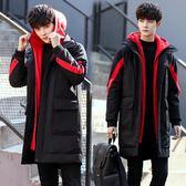 17冬季14青少年13大童16歲男孩棉衣18休閒外套15初中學生羽絨棉服
