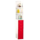 【藝匠】紅色(小)角落櫃 收納櫃 家具 組合櫃 廚具 收藏 置物櫃 櫃子 小櫃子