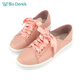 BO DEREK 貓耳造型休閒鞋-粉色