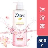 多芬微米淨透水感沐浴露-舒緩荷花500g【愛買】