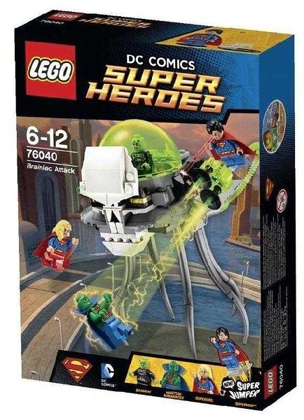 LEGO 樂高 Super Heroes 超級英雄 Brainiac Attack 布萊尼亞克的攻擊 76040