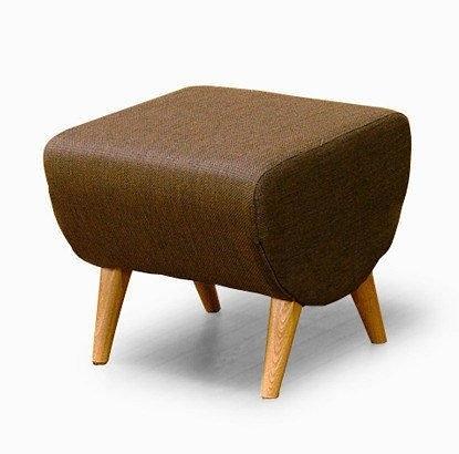 【歐雅系統家具】絨布日式腳椅 腳凳 工廠直營 台中市免運費