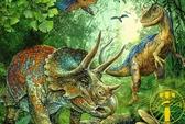 500片拼圖木質成人拼圖減壓大型益智玩具恐龍世界【雲木雜貨】