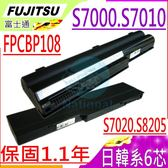 FUJITSU 電池-富士 電池- FPCBP82,S7020,S7020D,S7021,S7025,S8205,FMV-S8205,FMV-S8305,FPCBP82Z,FPCBP108
