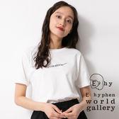❖ Summer ❖ 手繪感標語打印T恤 - E hyphen world gallery