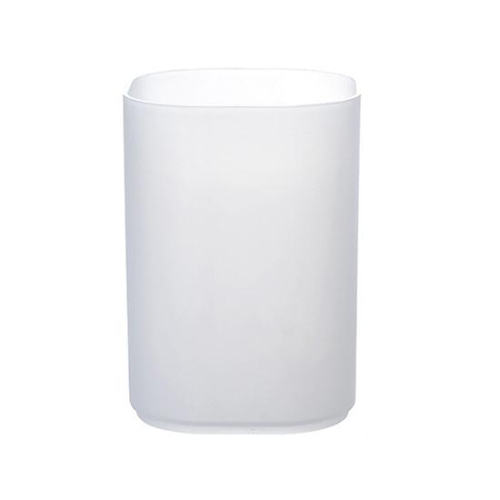 收納盒 筆筒 圓筒 收納架 化妝品收納架 桌面 辦公室 文具 透明磨砂收納盒【R014】MY COLOR