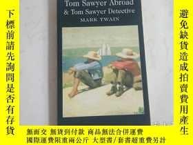 二手書博民逛書店Tom罕見Sawyer Abroad & Tom Sawyer
