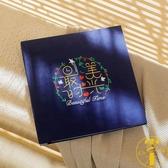 麂皮絨6/7寸相冊本插頁式家庭影集容量紀念冊相簿【雲木雜貨】