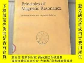 二手書博民逛書店principles罕見of magnetic resonance(P970)Y173412