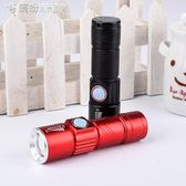 熒光劑檢測筆面膜化妝品測試驗鈔LED手電365nm紫光燈可充電手電筒 「繽紛創意家居」