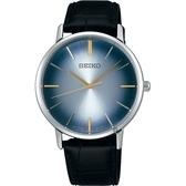 SEIKO 精工 SPIRIT 紳仕品格石英錶-漸層藍/38mm 7N01-0JR0B(SCXP125J)