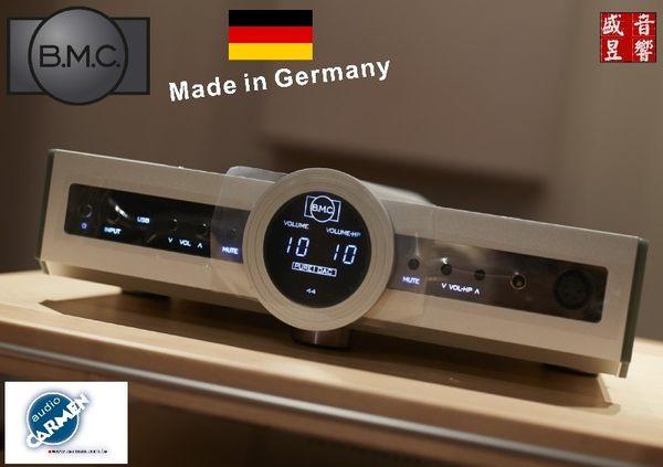 盛昱音響【現貨殺】德國 BMC PureDAC MK2 【High End DAC+前級+耳擴】可自取