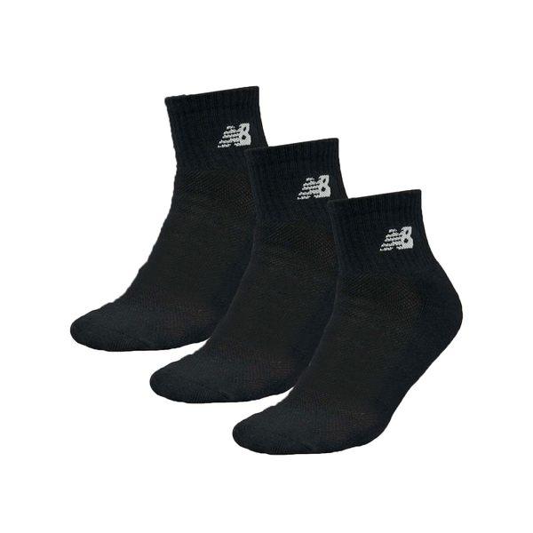 NEW BALANCE 運動短襪 (三雙入 中筒襪 襪子 NB≡體院≡
