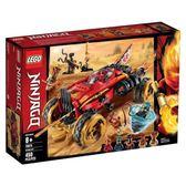 樂高積木 LEGO《 LT70675 》 NINJAGO 旋風忍者系列 - 卡塔那四驅車╭★ JOYBUS玩具百貨