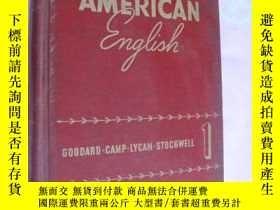 二手書博民逛書店很有趣且有用的老書罕見American English (Boo