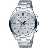 SEIKO CS系列 實力精英時尚腕錶 8T63-00C0S  白 SSB221P1