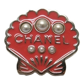 CHANEL 香奈兒 貝殼珍珠造型別針 胸針 Pin Brooch Shell A96422【二手品牌BRAND OFF】