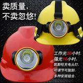 安全帽帶頭燈的安全帽 安全帽用頭燈 松緊帶頭燈安全帽 礦工頭燈 可充電全館免運 萌萌