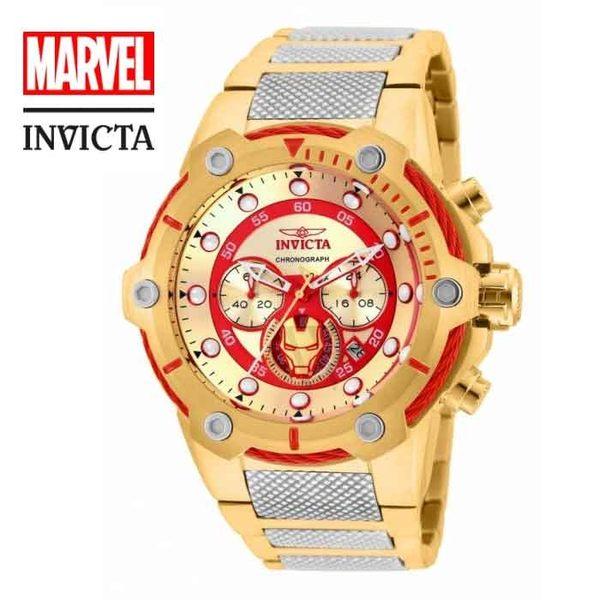 【INVICTAXMARVEL】漫威聯名款鋼鐵人腕錶