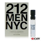 Carolina Herrera 212 都會男性淡香水1.5ml (針管香水)   *10點半美妝館*