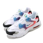 Nike 休閒鞋 Wmns Air Max 2X 白 藍 女鞋 Have A Good Game 電動主題設計 復古慢跑鞋 【ACS】 DC0837-190