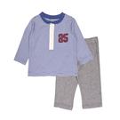 男寶寶套裝二件組 長袖T恤上衣+褲子藍   Carter s卡特童裝 (嬰幼兒/小孩/baby)
