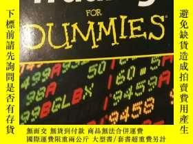 二手書博民逛書店Trading罕見for Dummies CY144640 內詳