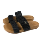 reef 雙帶拖鞋 戶外 黑色 編織 女鞋 RF0A520ABLA no418