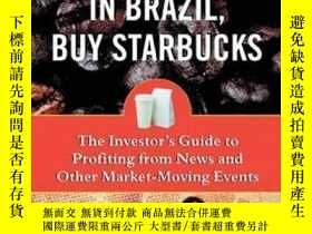 二手書博民逛書店If罕見It s Raining In Brazil, Buy StarbucksY256260 Peter