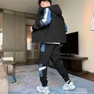 休閒套裝男潮牌秋季2020年新款運動工裝韓版潮流帥氣兩件一套搭配 好樂匯