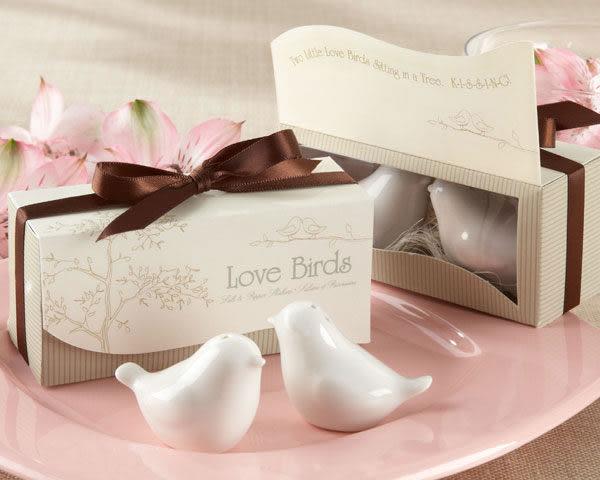 《婚禮小物- 喜鵲調味罐》*喜糖/桌上禮/送客禮/二次進場/10組