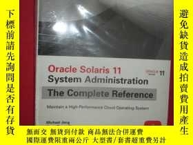 二手書博民逛書店Oracle罕見Solaris 11 System Admini