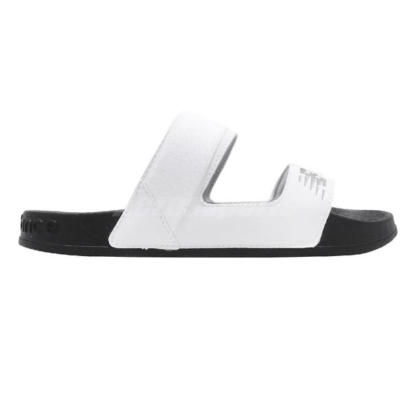 New Balance 涼拖鞋 NB 202 白 黑 女鞋 涼鞋 基本款 【PUMP306】 SWF202DWB