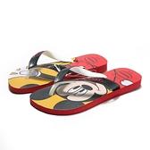 HAVAIANAS 哈瓦仕 兒童拖鞋 人字拖 米奇紅 迪士尼 拖鞋 (布魯克林) 41235001440K