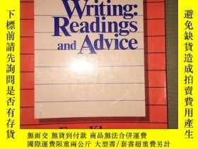 二手書博民逛書店F31罕見Writing Readings and Advice