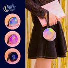 零錢包-心語鐳射圓筒零錢包/收納包/手拿包/圓筒包/雷射-共3色-B310077-FuFu