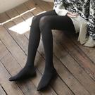 窩窩襪館2雙天鵝絨春夏80D啞光打底襪防勾絲薄款絲襪黑色連褲襪女 小山好物