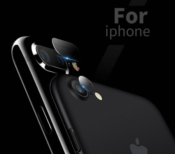 【TG】iPhone7/8 plus鏡頭鋼化膜 iphone 7/8plus手機貼膜 iphoneX攝像頭鋼化後背膜