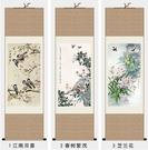 絲綢畫花鳥畫國畫客廳裝飾畫禮品畫捲軸畫書房掛畫招財畫開運畫