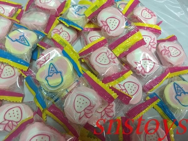 sns 古早味 懷舊零食 糖果 棉花糖 單包裝棉花糖 50顆