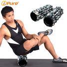 Yoga i-pure熱身瑜珈滾輪-黑迷彩-長版-1入
