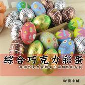 (預計2021.11月底到貨)綜合巧克力彩蛋 200g 甜園小舖