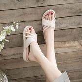 拖鞋女2019夏新款外穿時尚百搭網紅可濕水人字拖ins潮款涼拖潮鞋