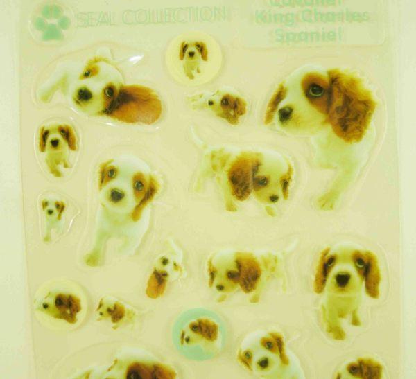 【震撼精品百貨】新大頭狗_The Dog~透明貼紙-查理王