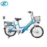 電動自行車鋰電車電瓶車成人代步車外賣車24寸20寸48V60V