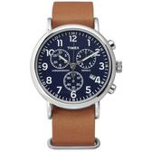 TIMEX 天美時 (TXT2P62300) 三眼計時 冷光 手錶/40mm