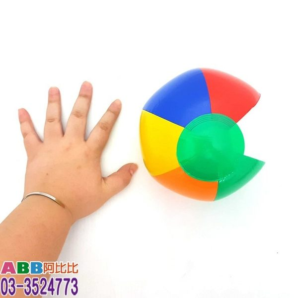 A1528★9吋海灘球充氣玩具#皮球球海灘球沙灘球武器大骰子色子加油棒三叉槌子錘子充氣玩具