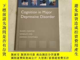 二手書博民逛書店Cognition罕見in Major Depressive DisorderY180607 外文看圖 外文看